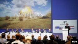 Представник міжнародної групи повідомляє про результати розслідування катастрофи літака рейсу MH17, Нідерланди, 28 вересня 2016 року
