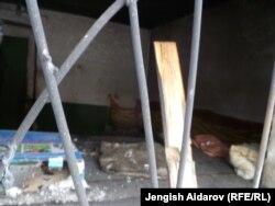 Последствия погромов в Андараке, 30 декабря 2011г.