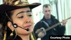 Tajikistan -- Tajik popular pop singer Manizhai Davlat, 27Mar2012