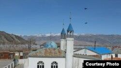 Мечеть в Баян-Улгийском округе Монголии. Фото блогера Жанарбека Акыбиулы.