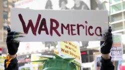 Протесты в Нью-Йорке против возможного удара по Сирии