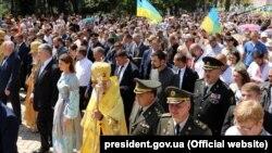 Московский патриархат накануне провел по Киеву свое шествие
