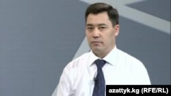 """Садыр Жапаров, лидер партии """"Ата-Журт""""."""