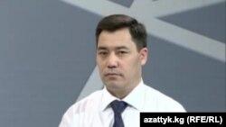 """""""Ата Жұрт"""" партиясынан сайланған депутат Садыр Жапаров."""