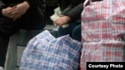 Типичные сумки челноков