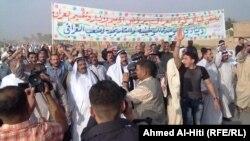 من تظاهرات الأنبار