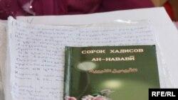 Одно из главных доказательств «религиозного экстремизма» по делу мусульманина Валерия Твердохлеба. Кокшетау, 2 июня 2010 года. Иллюстративное фото.
