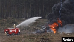 Катастрофа вертолета МИ-28 под Рязанью 2 августа 2015 года
