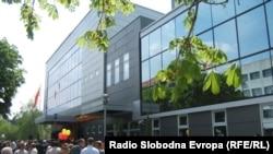 Новата општинска зграда во Прилеп