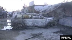 The aftermath of a Taliban attack in Afghanistan (file photo).