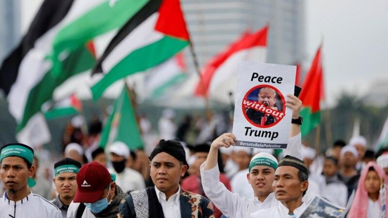 Протест во Џакарта поради признавањето на Ерусалим како главен град на Израел