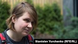 Російська журналістка Лідія Сімакова