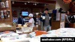 Супермаркет в Ашхабаде.