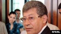 Interim President Mihai Ghimpu: 'Unconditionally, urgently, and transparently'