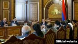 Заседание правительства Армении (архив)