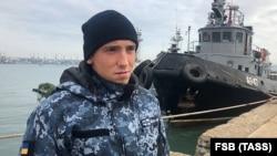 Один із захоплених українських військових Сергій Цибізов