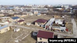 Микрорайон компактного проживания крымских татар вблизи улицы Генерала Васильева в Симферополе