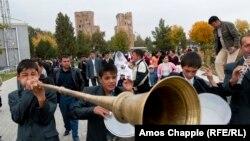 Свадьба в Узбекистане, архивное фото.