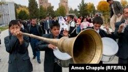 Өзбекстандағы тойлардың бірі. Шәхрисәбз