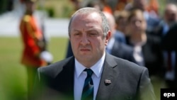 Georgian President Giorgi Margvelashvili (file photo)