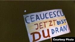 Демонстрация против Чаушеску, 20 лет назад