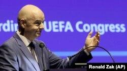 Presidenti i FIFA-s, Gianni Infantino, foto nga arkivi