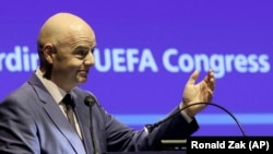 FIFA President Gianni Infantino (file photo)
