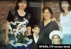 Семья Салказановых до теракта