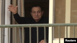 Свергнутый президент Египта Хосни Мубарак.