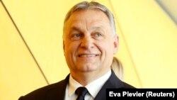 Виктор Орбан в Брюсселе перед заседанием политсовета ЕНП, 20 марта 2019 года