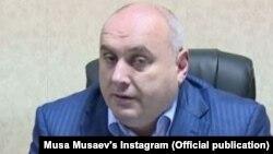 Пока еще действующий мэр Махачкалы Муса Мусаев