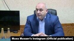 Мэр Махачкалы Муса Мусаев