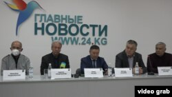Пресс-конференция претендентов на пост президента. 9 декабря 2020 года.