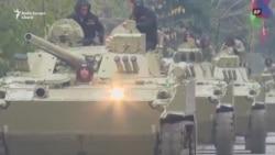 Armata azeră intră în Agdam la o zi după ce armenii au plecat de acolo