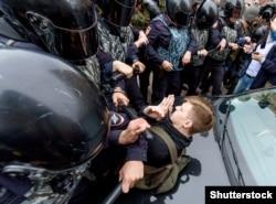 Задержания на акции в Петербурге, 9 сентября 2018 г.
