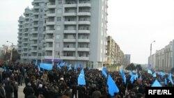 Müsavat Partiyası ötən həftənin bazar günü də yürüş-mitinq keçirmişdi