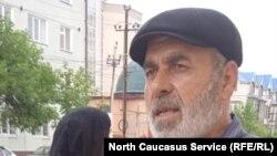 Муртазали Гасангусенов в день оглашения решения суда, 28 июня