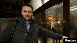 Олексій Навальний на радіо «Ехо Москви» перед затриманням, 14 січня 2015 року