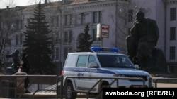 Міліцыя ў Менску, архіўнае фота.