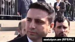 Вице-спикер Национального собрания Ален Симонян (архив)