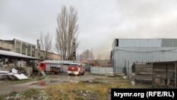 Пожар на складе в Керчи, 30 ноября 2018 года