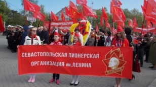 У Севастополі провели Першотравневу демонстрацію