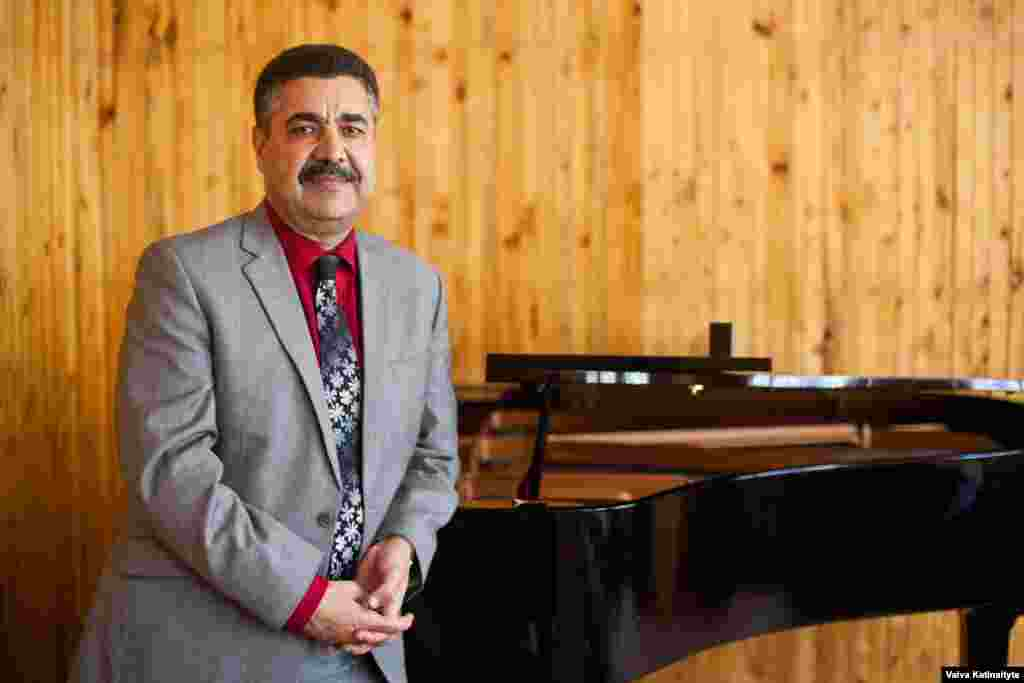 Ahmad Sarmast is the head of Afghanistan's National Institute of Music. He survived a suicide attack at the French Cultural Center in Kabul last year.