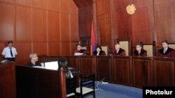 Одно из слушаний в Кассационном суде Армении.