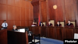 Armenia - A Court of Cassation hearing in Yerevan, 8May2013.
