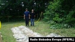 Pronađeno zakopano naoružanje kod Tešnja