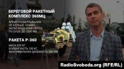 Протикорабельна ракета «Нептун» на виставці «Зброя та безпека» у Києві