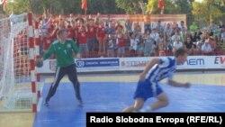 Ракометен натпревар во Струга.