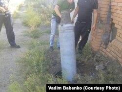 Un proiectil lîngă casa lui Babenko