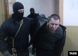 Тамерлан Эскерханов в Басманном суде, 8 марта